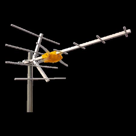 ANTENNA UHF(C21-60)10EL.G8.5DBI ARANC.