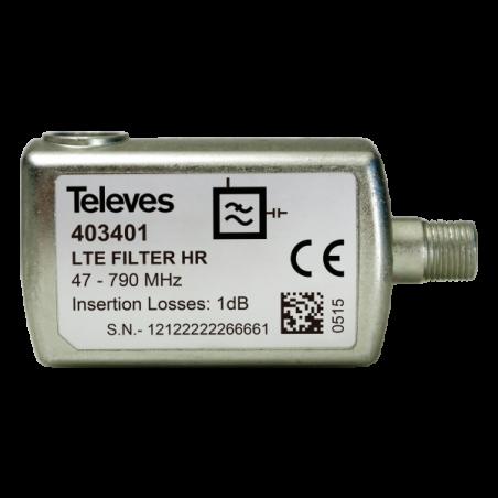 """FILTRO LTE60 """"F"""" 5-790MHZ V/U (C21-60)"""