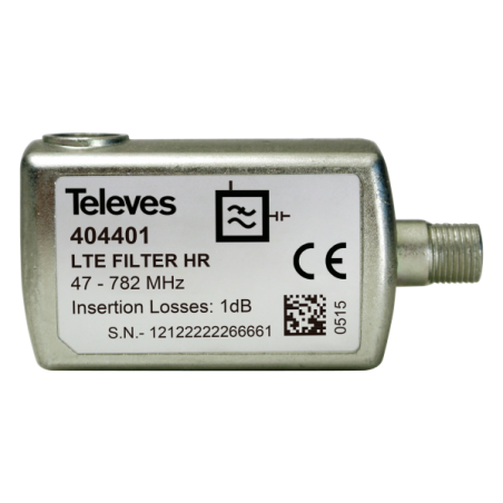 FILTRO LTE HR F 47..782MHZ (C21-59)