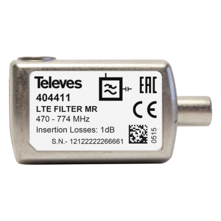 """BLIST. FILTRO LTE """"IEC"""" 470...774MHZ (C21-58)"""