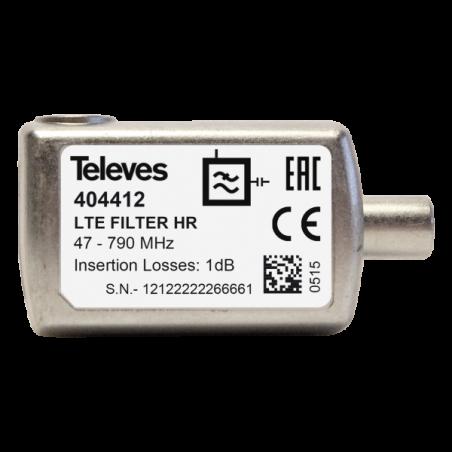 """BLIST. FILTRO LTE """"IEC"""" 5-790MHZ SELETTIVO"""