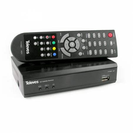 DECODER DIG.SAT DVB-S/S2 (S/PDIF + DCSS)