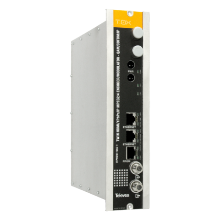 T.0X ENCODER IP HD TWIN COFDM/QAM