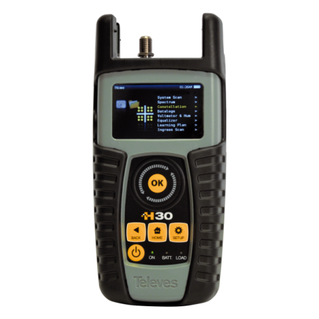 H30: DVB-C + CONTROLLO REMOTO + TEST IP